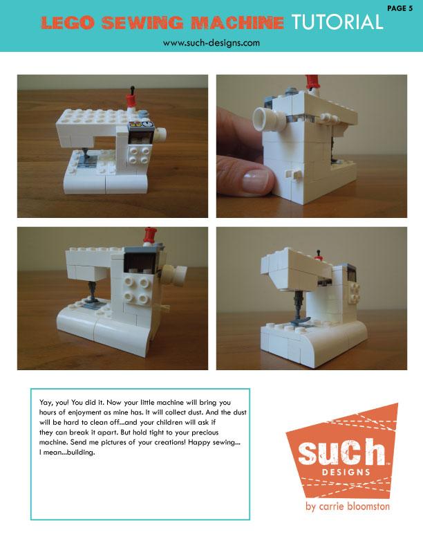 lego machine tutorial