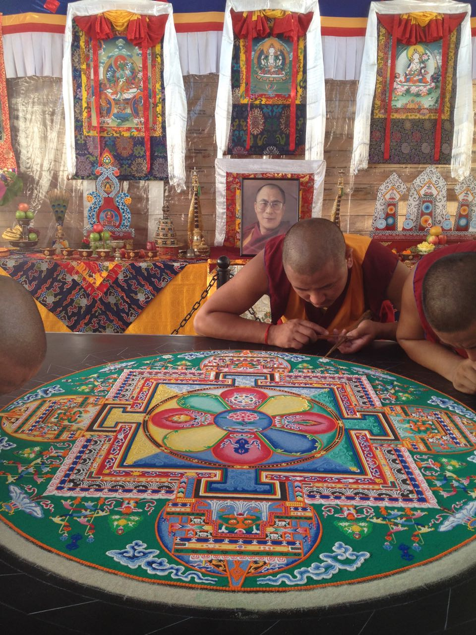 The lessons of prayer flags for the Dalai Lama in Alabama